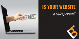 is your website a salesperson